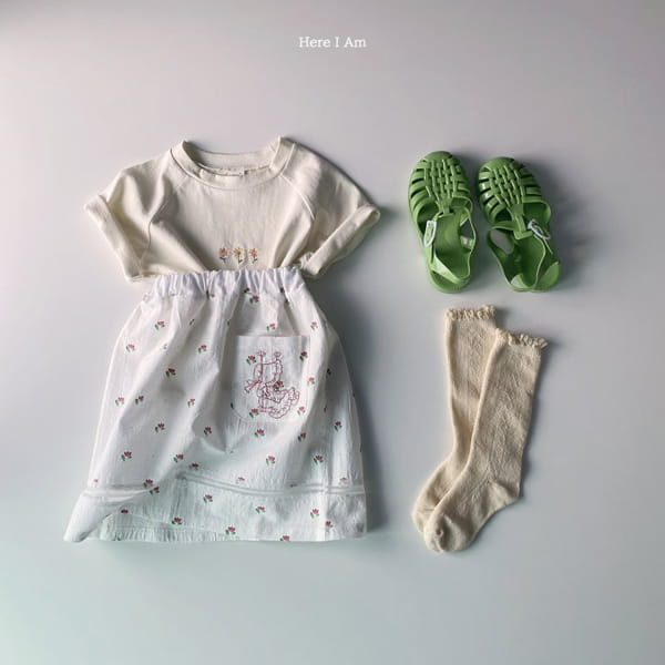 HERE I AM - Korean Children Fashion - #Kfashion4kids - French Tee - 9