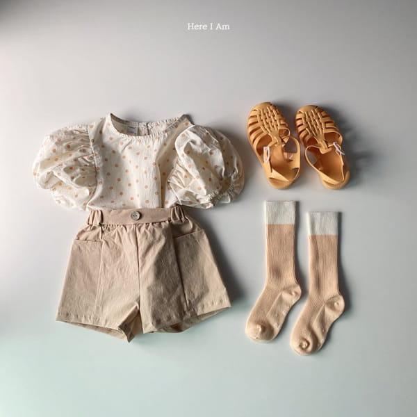HERE I AM - Korean Children Fashion - #Kfashion4kids - Purine Dot Blouse - 10
