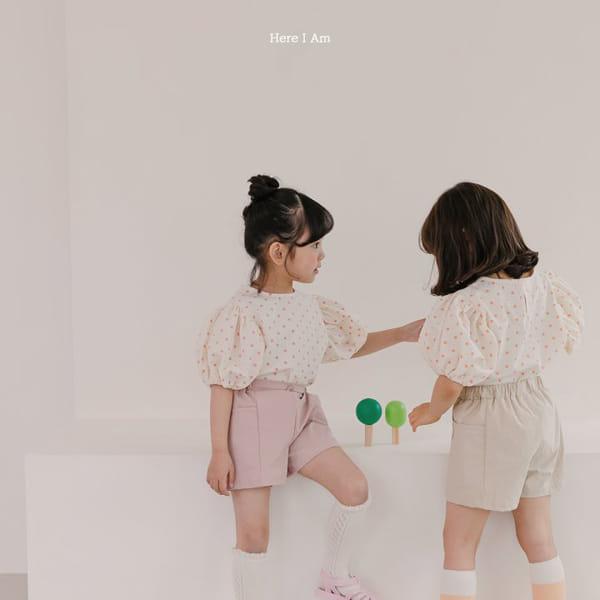 HERE I AM - Korean Children Fashion - #Kfashion4kids - Purine Dot Blouse - 3