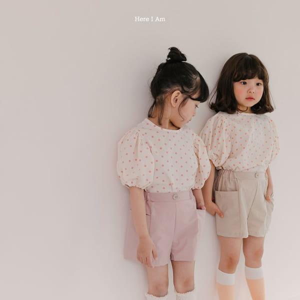 HERE I AM - Korean Children Fashion - #Kfashion4kids - Purine Dot Blouse - 4