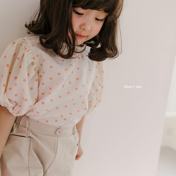 HERE I AM - Korean Children Fashion - #Kfashion4kids - Purine Dot Blouse - 5