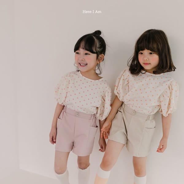 HERE I AM - Korean Children Fashion - #Kfashion4kids - Purine Dot Blouse - 6