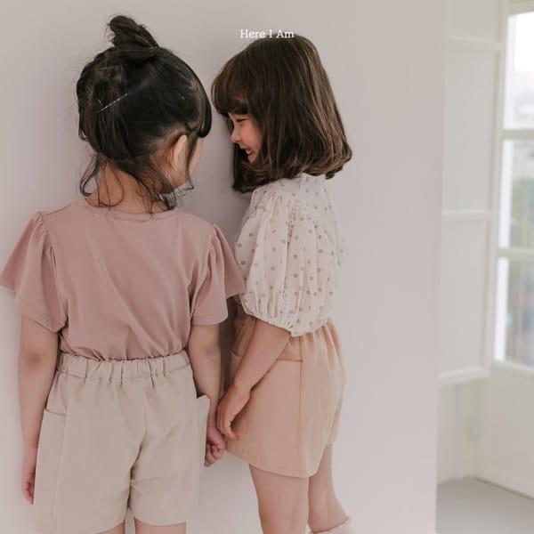 HERE I AM - Korean Children Fashion - #Kfashion4kids - Purine Dot Blouse - 7