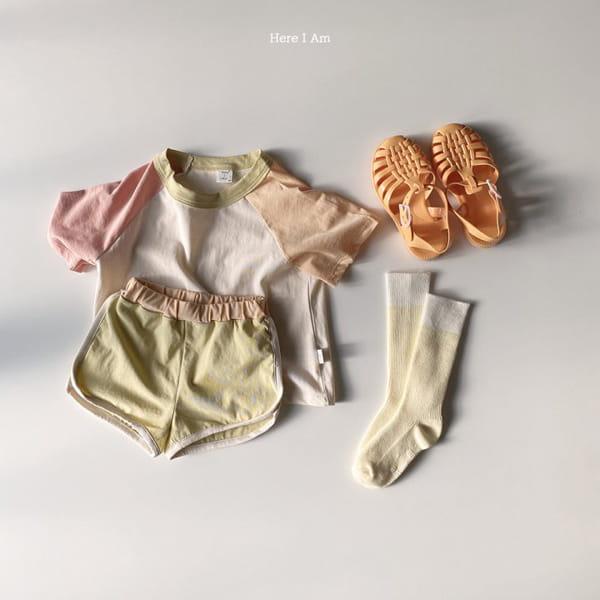 HERE I AM - Korean Children Fashion - #Kfashion4kids - Plate Top Bottom Set - 10