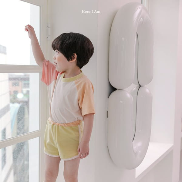 HERE I AM - Korean Children Fashion - #Kfashion4kids - Plate Top Bottom Set - 4