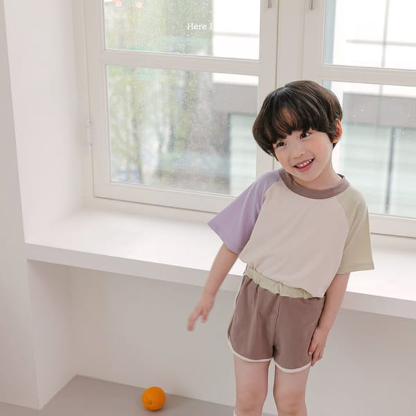 HERE I AM - Korean Children Fashion - #Kfashion4kids - Plate Top Bottom Set - 5