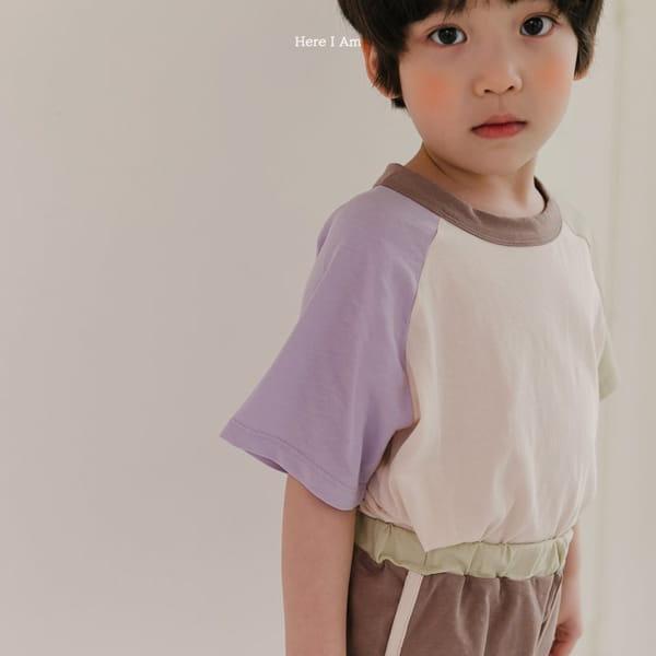 HERE I AM - Korean Children Fashion - #Kfashion4kids - Plate Top Bottom Set - 6