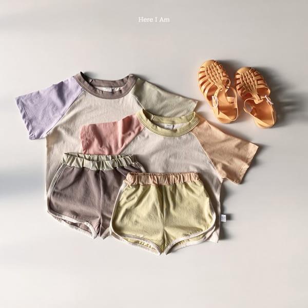 HERE I AM - Korean Children Fashion - #Kfashion4kids - Plate Top Bottom Set - 8