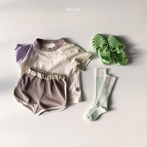 HERE I AM - Korean Children Fashion - #Kfashion4kids - Plate Top Bottom Set - 9