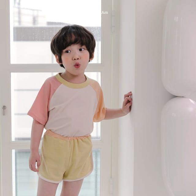 HERE I AM - BRAND - Korean Children Fashion - #Kfashion4kids - Plate Top Bottom Set