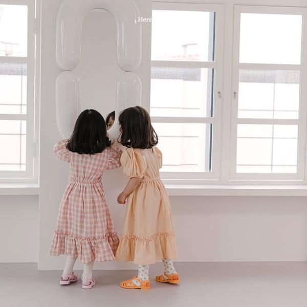 HERE I AM - Korean Children Fashion - #Kfashion4kids - Pineapple Tulip One-piece - 4