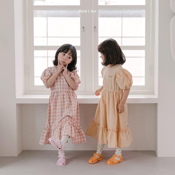 HERE I AM - Korean Children Fashion - #Kfashion4kids - Pineapple Tulip One-piece - 5
