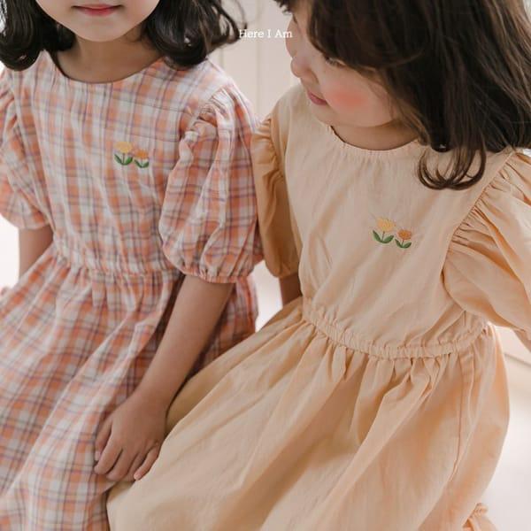 HERE I AM - Korean Children Fashion - #Kfashion4kids - Pineapple Tulip One-piece - 6