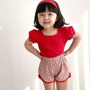 LAGO - BRAND - Korean Children Fashion - #Kfashion4kids - Islet Puff Tee