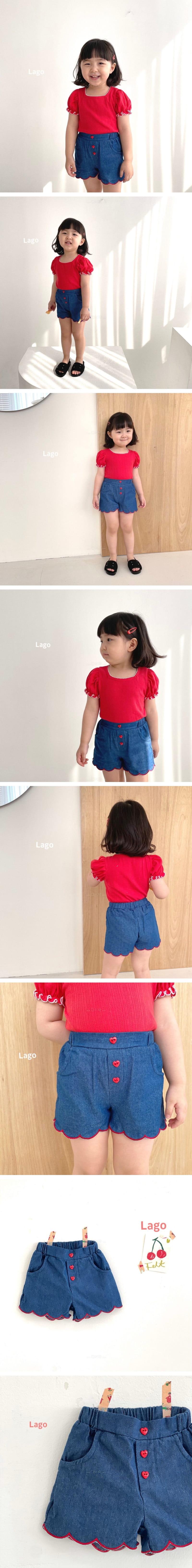 LAGO - Korean Children Fashion - #Kfashion4kids - Wave Pants