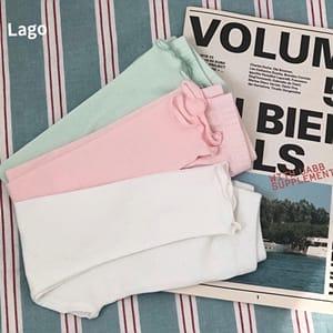 LAGO - BRAND - Korean Children Fashion - #Kfashion4kids - Modal Span Leggings