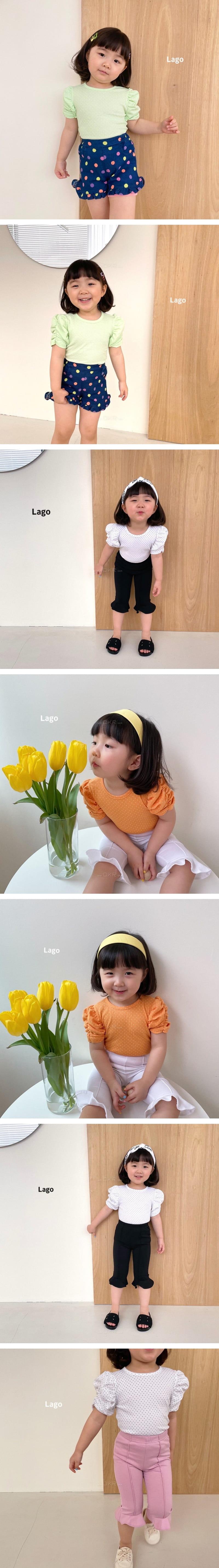 LAGO - Korean Children Fashion - #Kfashion4kids - Rinkle Tee