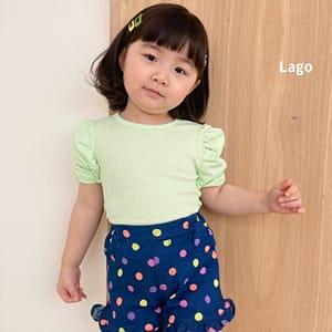 LAGO - BRAND - Korean Children Fashion - #Kfashion4kids - Rinkle Tee