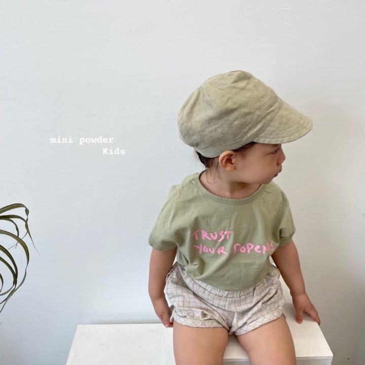 MINI POWDER - Korean Children Fashion - #Kfashion4kids - Stingray Short Sleeves Tee