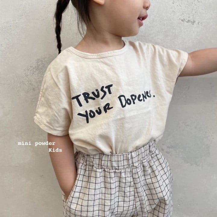 MINI POWDER - Korean Children Fashion - #Kfashion4kids - Stingray Short Sleeves Tee - 11