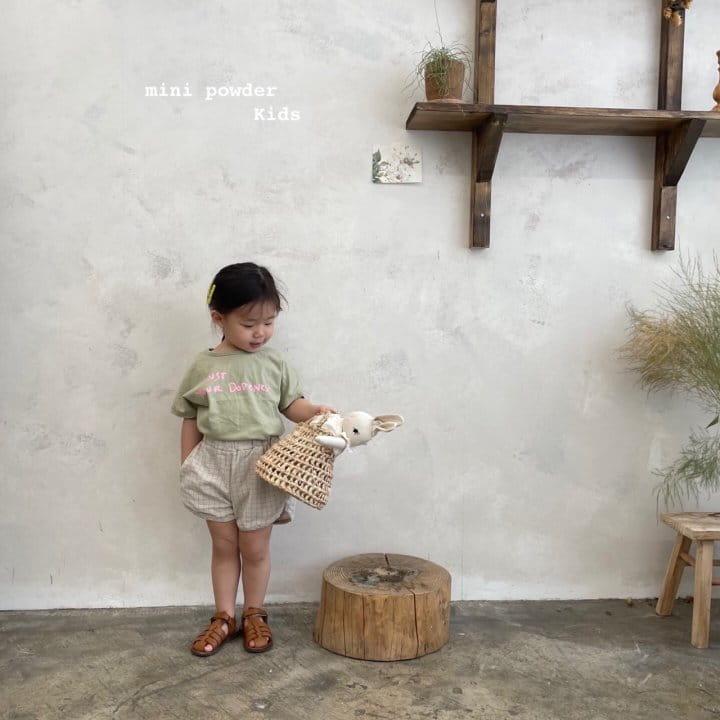 MINI POWDER - Korean Children Fashion - #Kfashion4kids - Stingray Short Sleeves Tee - 12