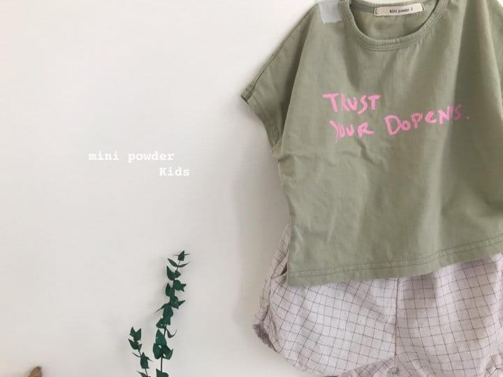 MINI POWDER - Korean Children Fashion - #Kfashion4kids - Stingray Short Sleeves Tee - 5