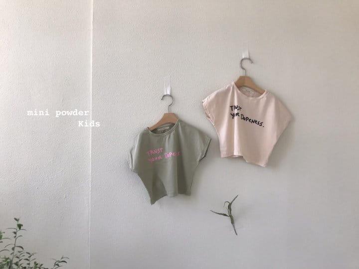 MINI POWDER - Korean Children Fashion - #Kfashion4kids - Stingray Short Sleeves Tee - 6