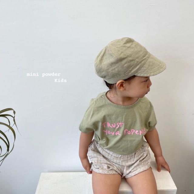 MINI POWDER - BRAND - Korean Children Fashion - #Kfashion4kids - Stingray Short Sleeves Tee