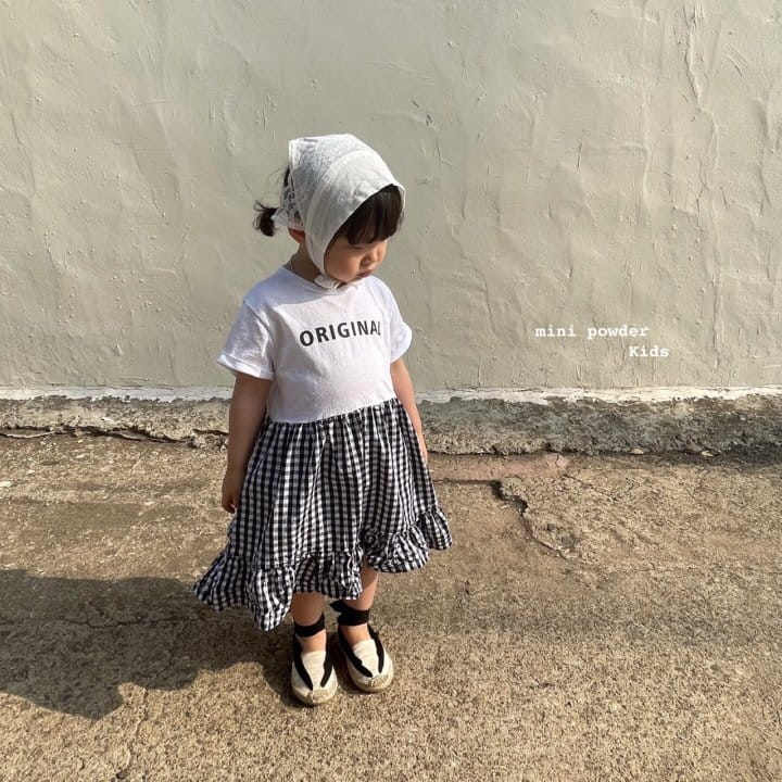 MINI POWDER - Korean Children Fashion - #Kfashion4kids - Original Frill One-piece