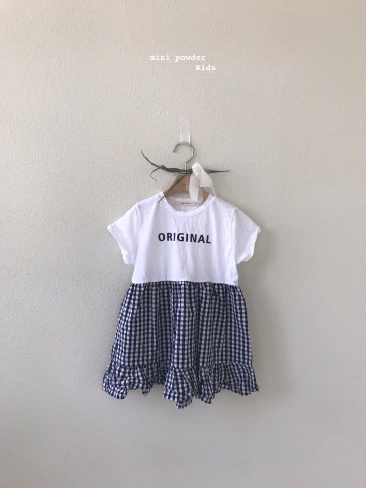 MINI POWDER - Korean Children Fashion - #Kfashion4kids - Original Frill One-piece - 10