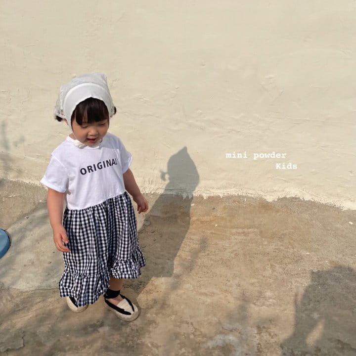 MINI POWDER - Korean Children Fashion - #Kfashion4kids - Original Frill One-piece - 12