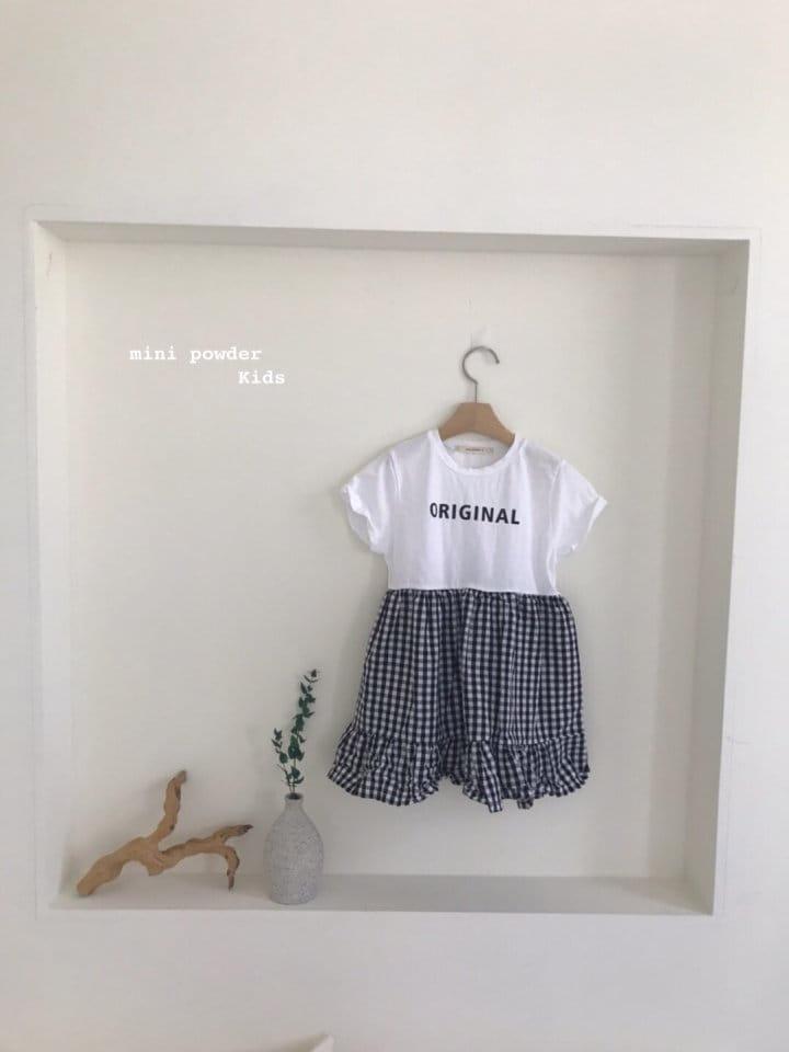 MINI POWDER - Korean Children Fashion - #Kfashion4kids - Original Frill One-piece - 3