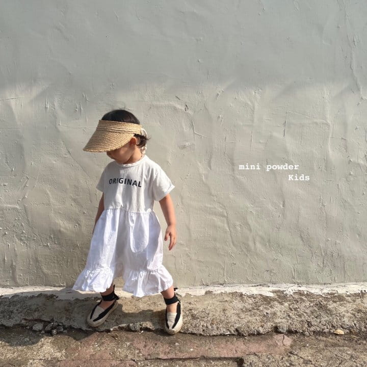 MINI POWDER - Korean Children Fashion - #Kfashion4kids - Original Frill One-piece - 4