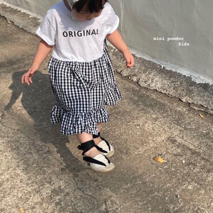 MINI POWDER - Korean Children Fashion - #Kfashion4kids - Original Frill One-piece - 5