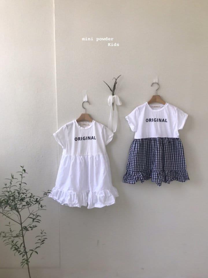 MINI POWDER - Korean Children Fashion - #Kfashion4kids - Original Frill One-piece - 6
