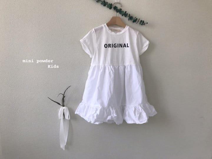 MINI POWDER - Korean Children Fashion - #Kfashion4kids - Original Frill One-piece - 7