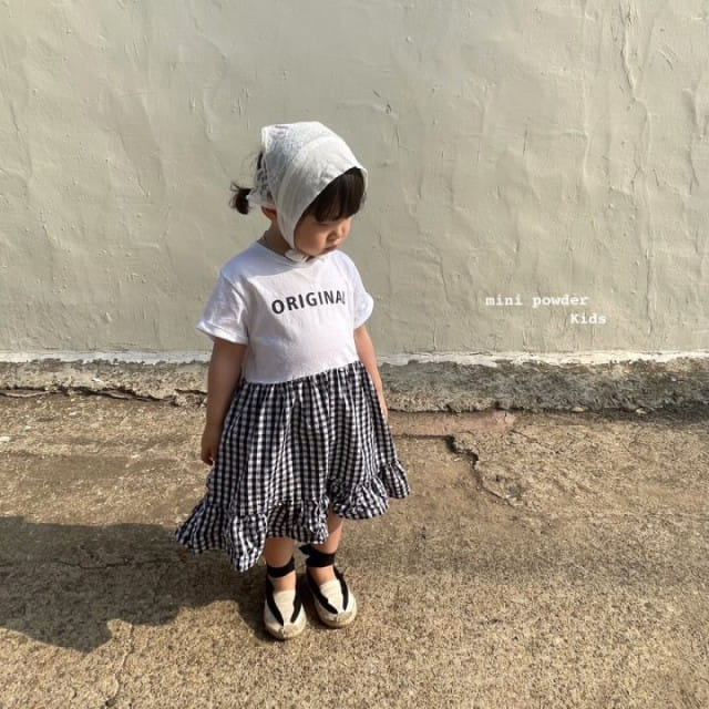 MINI POWDER - BRAND - Korean Children Fashion - #Kfashion4kids - Original Frill One-piece