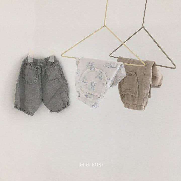 MINI ROBE - Korean Children Fashion - #Kfashion4kids - Sue Sue Pants - 2