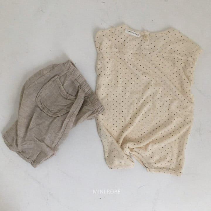 MINI ROBE - Korean Children Fashion - #Kfashion4kids - Sue Sue Pants - 3