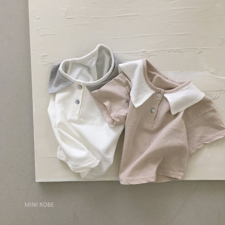 MINI ROBE - Korean Children Fashion - #Kfashion4kids - Sailor Tee