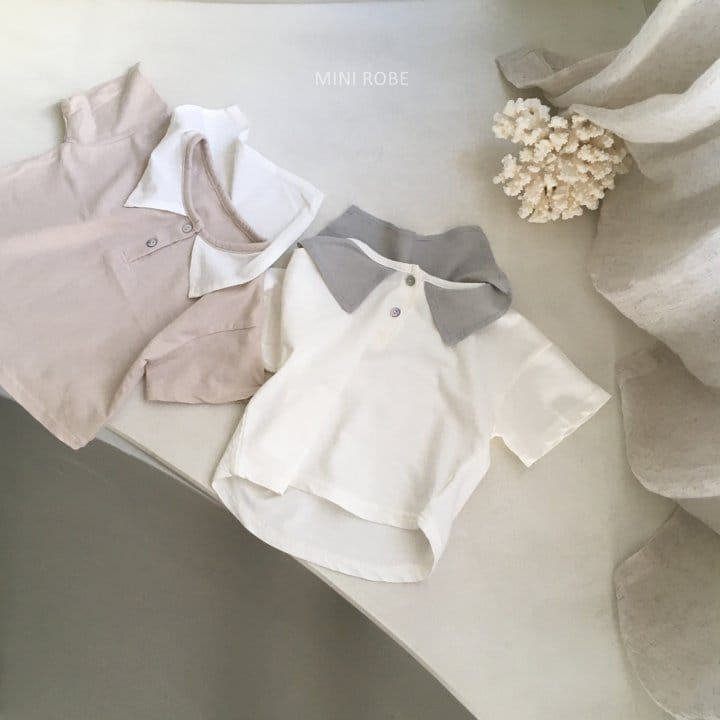 MINI ROBE - Korean Children Fashion - #Kfashion4kids - Sailor Tee - 6