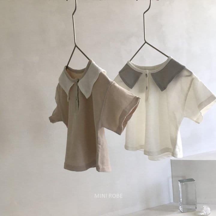 MINI ROBE - Korean Children Fashion - #Kfashion4kids - Sailor Tee - 8