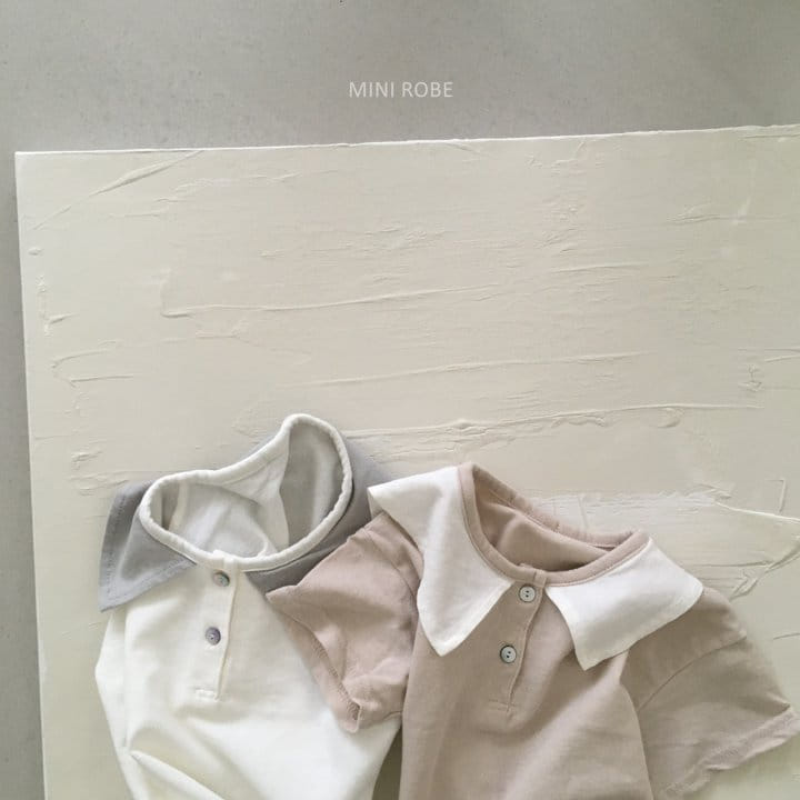 MINI ROBE - Korean Children Fashion - #Kfashion4kids - Sailor Tee - 9