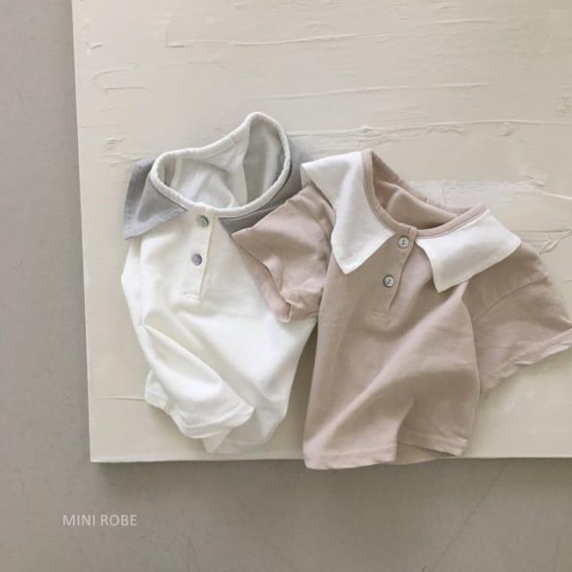 MINI ROBE - BRAND - Korean Children Fashion - #Kfashion4kids - Sailor Tee