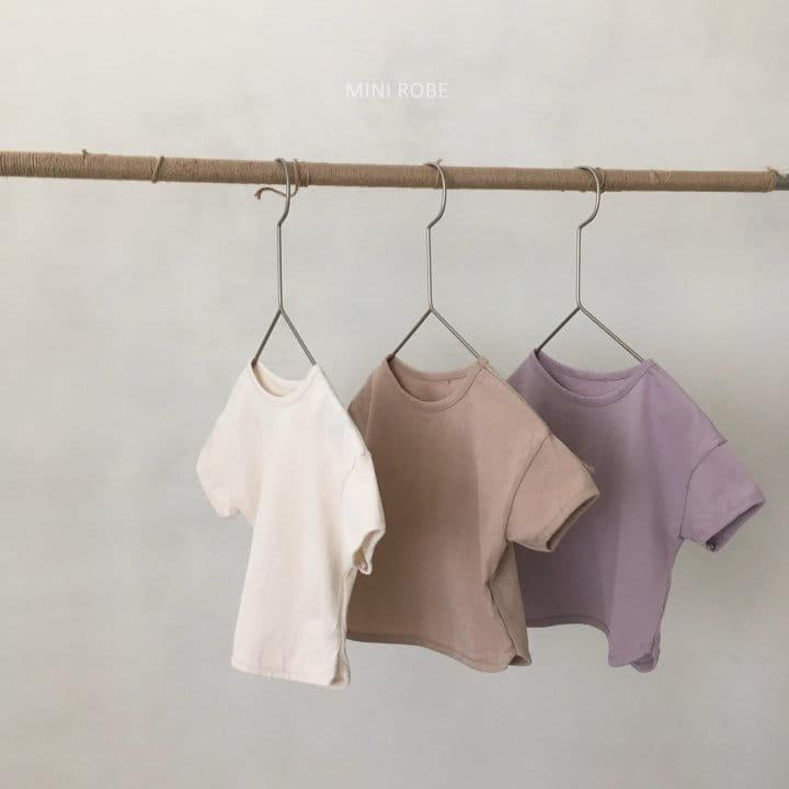 MINI ROBE - Korean Children Fashion - #Kfashion4kids - Basic Tee - 12