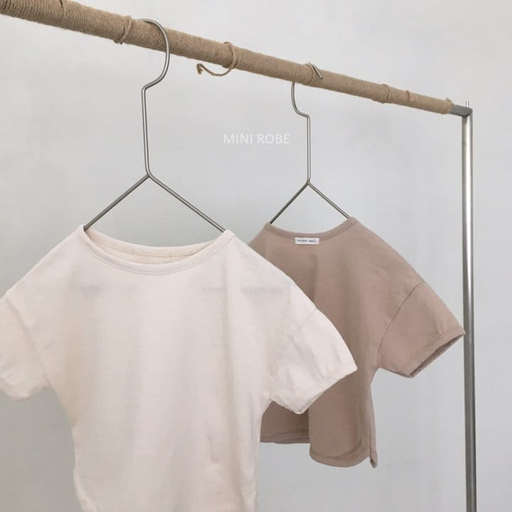 MINI ROBE - Korean Children Fashion - #Kfashion4kids - Basic Tee - 3
