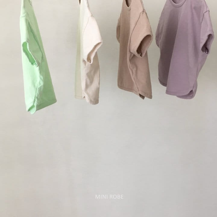 MINI ROBE - Korean Children Fashion - #Kfashion4kids - Basic Tee - 5