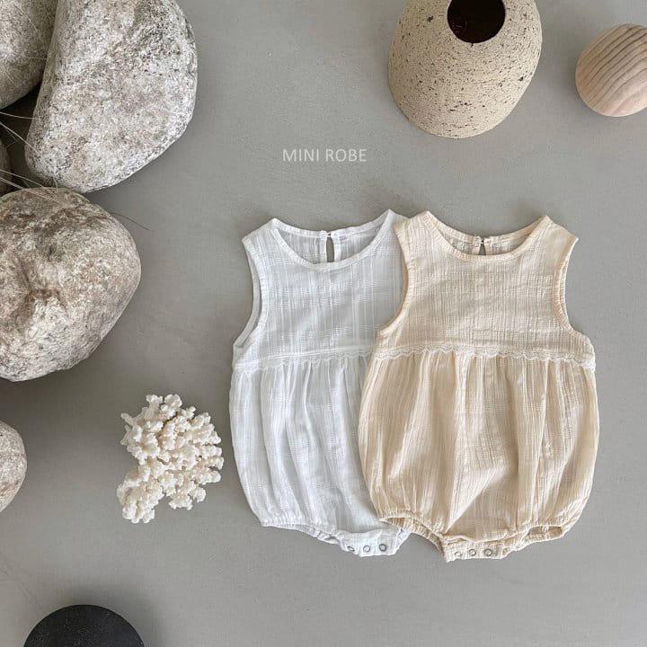 MINI ROBE - Korean Children Fashion - #Kfashion4kids - May Frill Bodysuit