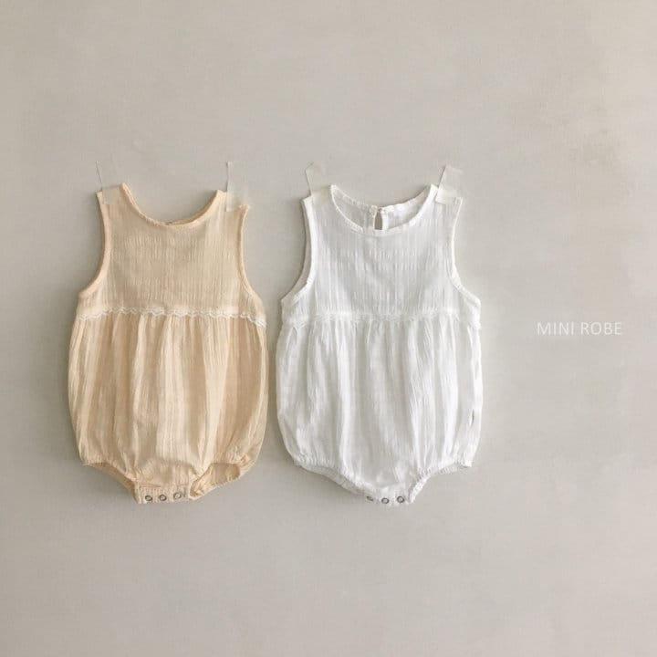 MINI ROBE - Korean Children Fashion - #Kfashion4kids - May Frill Bodysuit - 10
