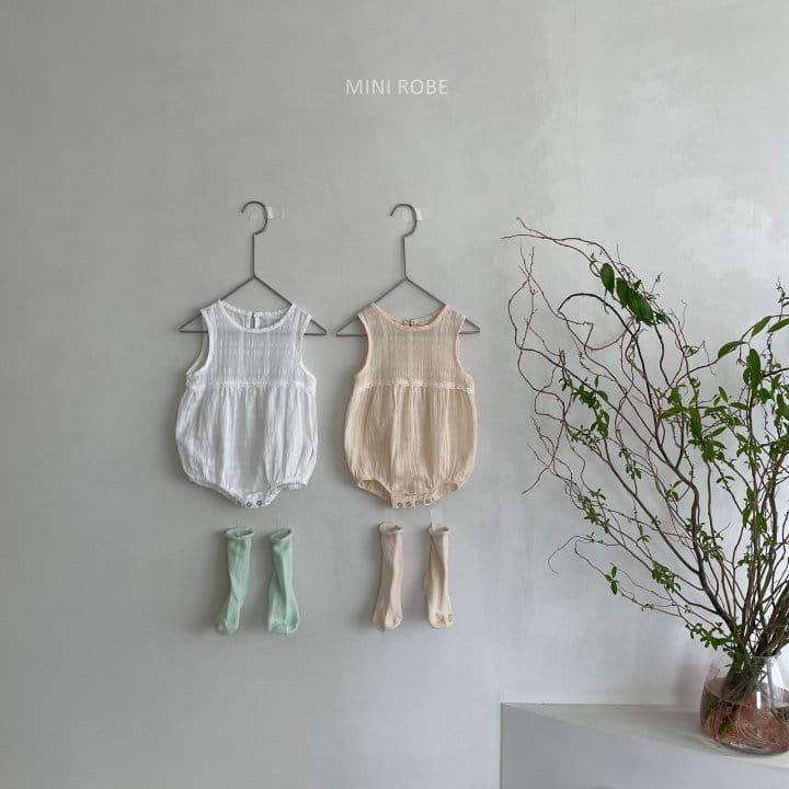 MINI ROBE - Korean Children Fashion - #Kfashion4kids - May Frill Bodysuit - 12
